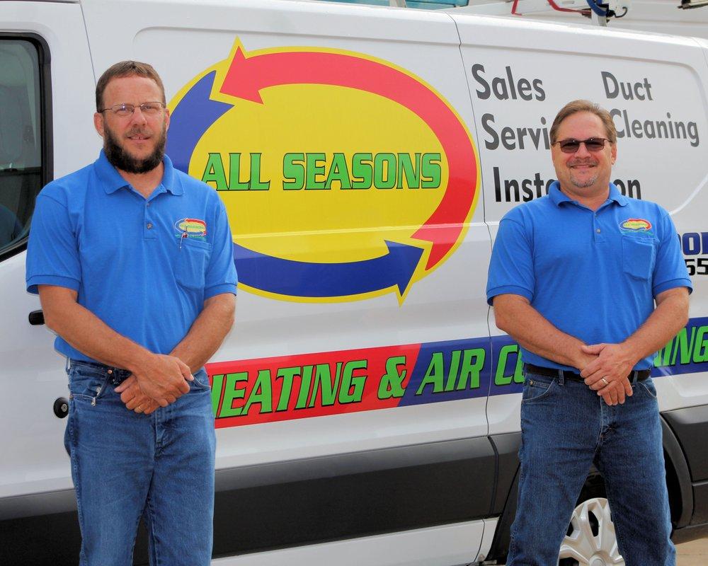 All Seasons Heating & Air Conditioning: 122 Community Blvd, Longview, TX