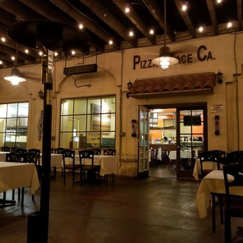 Photo Of Pizza Place California   San Gabriel, CA, United States. Outdoor  Patio