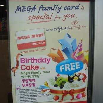 Mega Mart Cakes