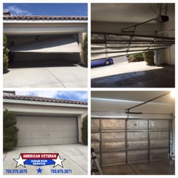 Photo Of American Veteran Garage Doors   Las Vegas, NV, United States.  Garage. Garage Door Offtrack Repair