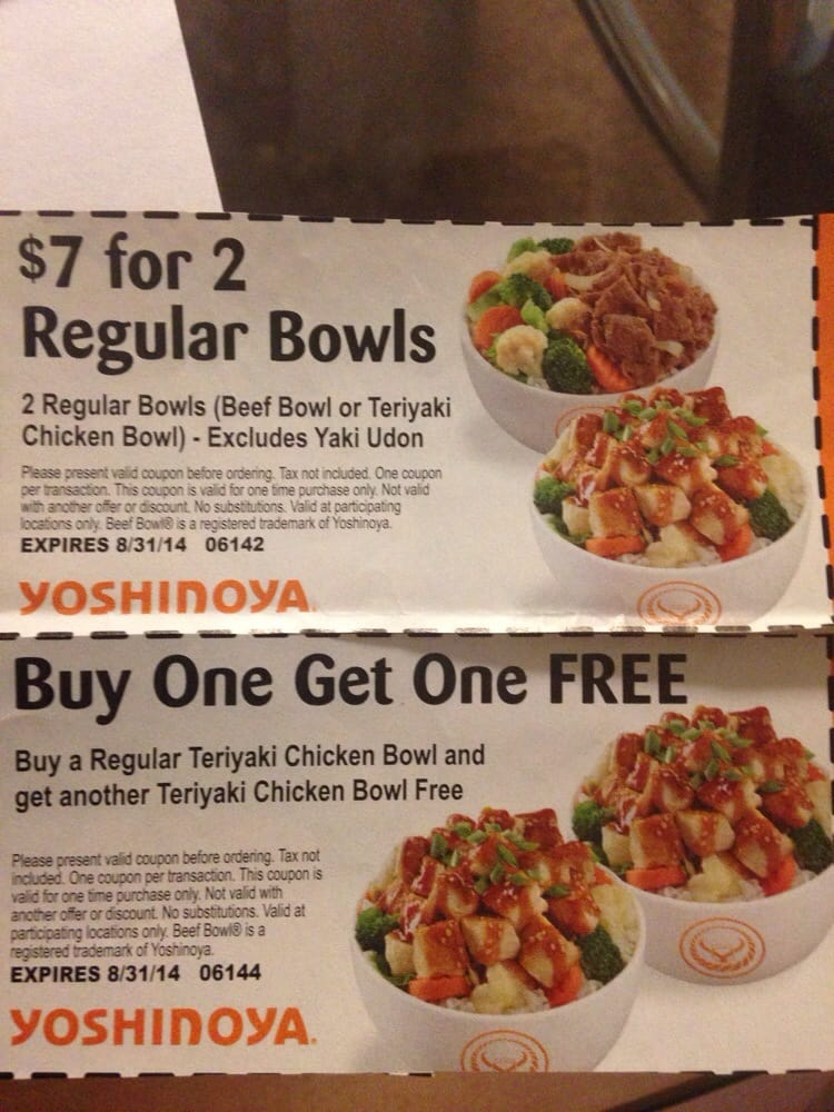 graphic regarding Yoshinoya Coupons Printable referred to as Yoshinoya - Fullerton - 142 Illustrations or photos 140 Critiques - Jap