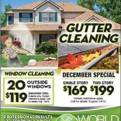 World Gutter Amp Window Cleaning Window Washing