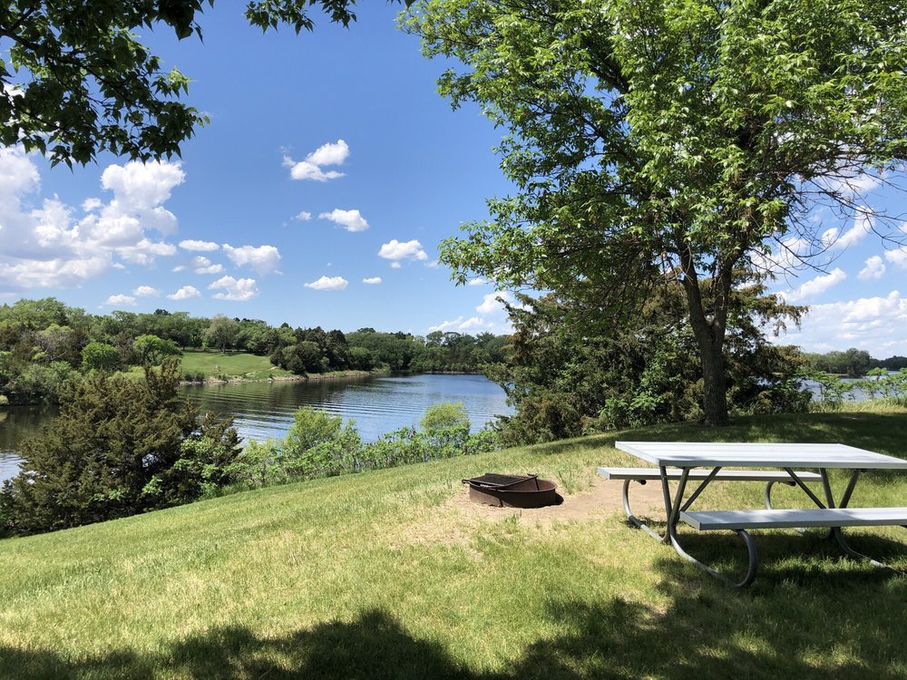 Social Spots from Lake Mitchell Campground