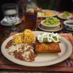 Photo Of Tommy S Mexican Restaurant San Francisco Ca United States En Chimichanga