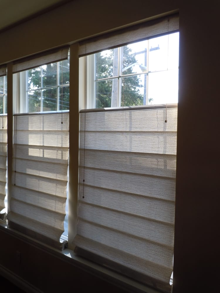 Graber Roman Shades With Top Down Bottom Up Yelp