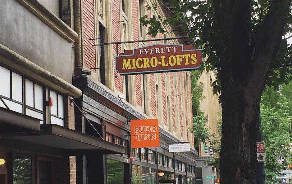 Everett Micro Lofts: 318 NW Broadway, Portland, OR