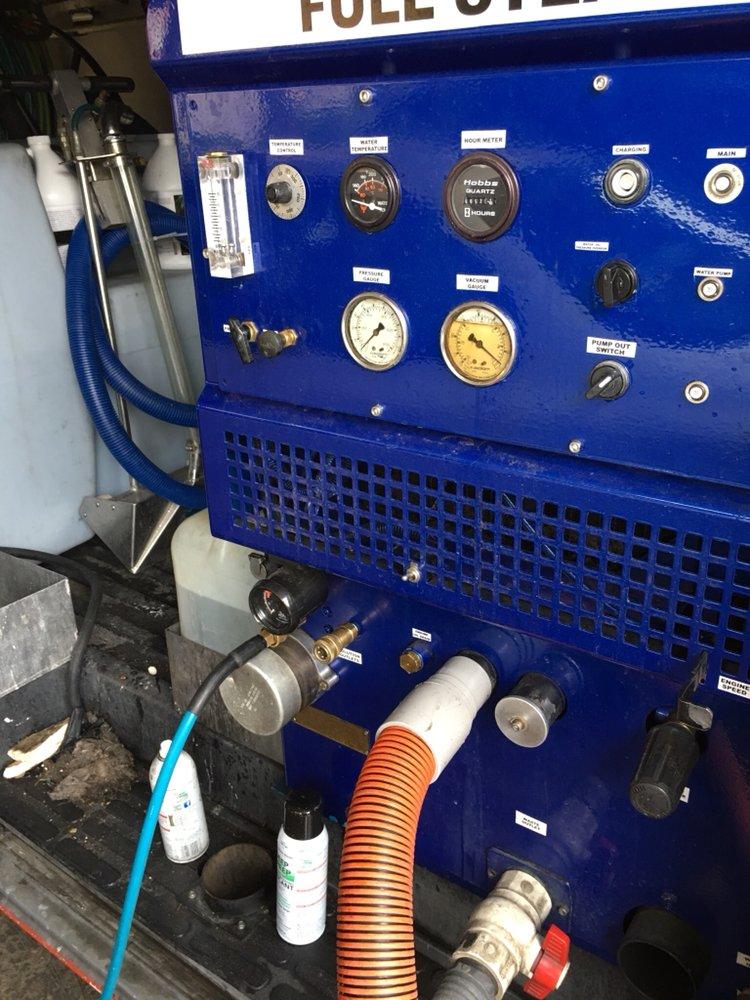The Prochem Steamclean Machine Produces High Heat Steam