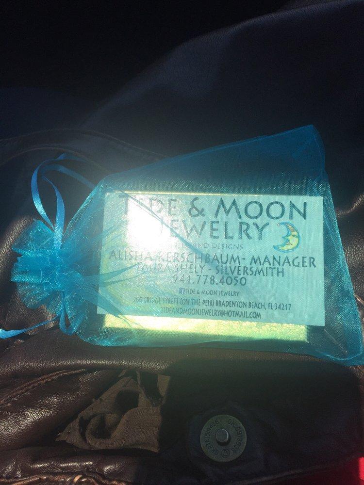 Tide & Moon Jewelry: 200 Bridge Street Pier, Bradenton Beach, FL
