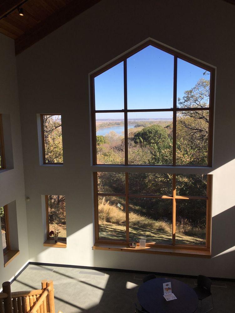 Missouri River Basin Lewis & Clark Visitor Center: 100 Valmont Dr, Nebraska City, NE