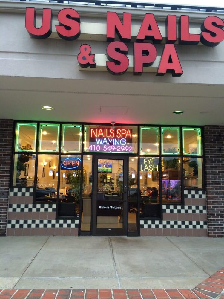 U s nails spa 24 mga larawan nail salons 6300 for 24 nail salon las vegas