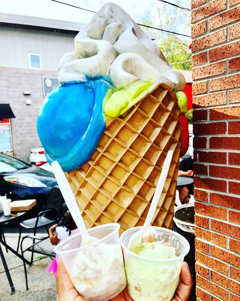 Morelli's Gourmet Ice Cream: 749 Moreland Ave SE, Atlanta, GA