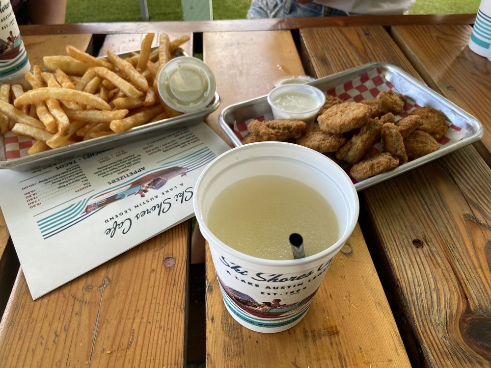 Food from Ski Shores Cafe