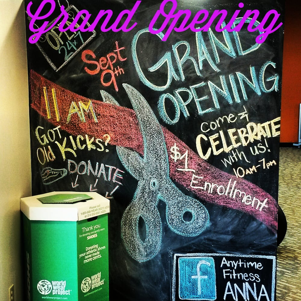 Anytime Fitness: 804-904 S Central Expy, Anna, TX