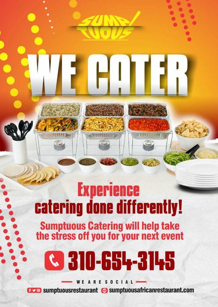 Sumptuous African Restaurant: 1170 S La Brea Ave, Inglewood, CA