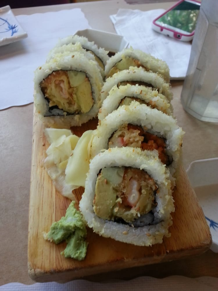 Some sorta garlic roll yelp for Akasaka japanese cuisine