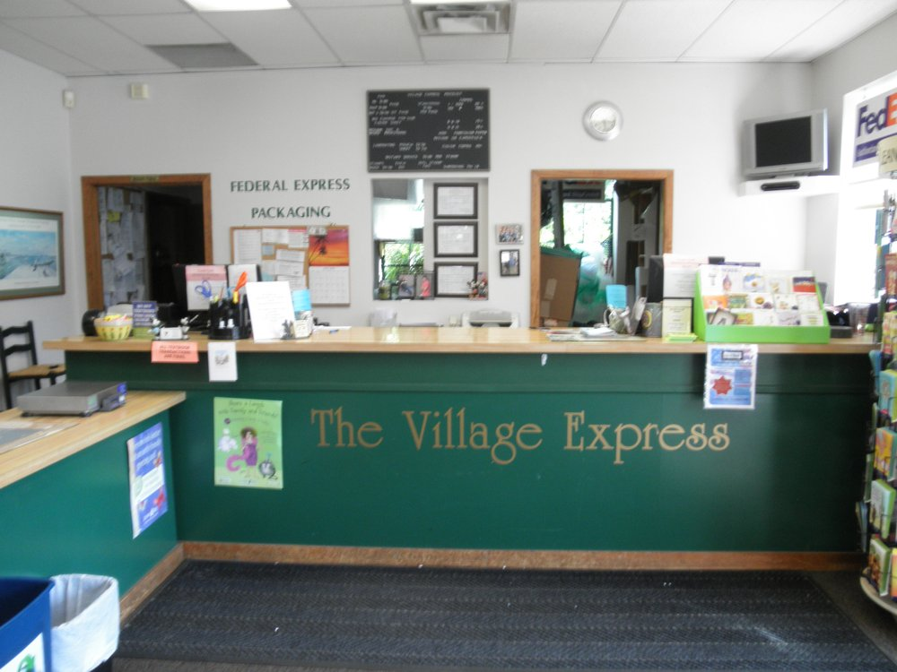 The Village Express: 1204 Main St, Branford, CT