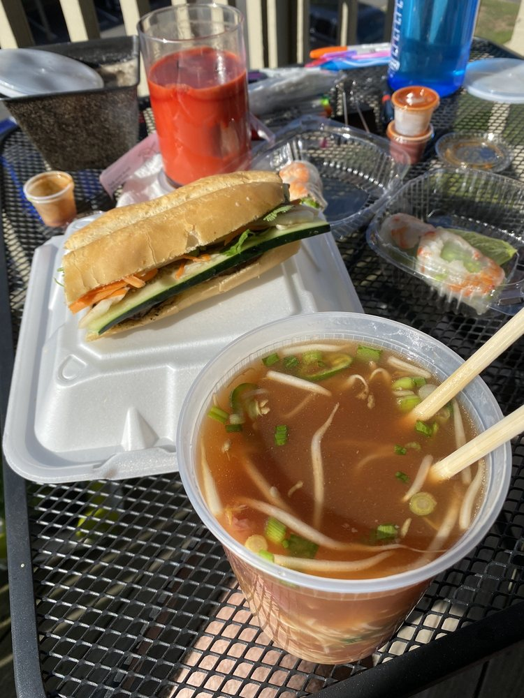 Food from Pho & Grill