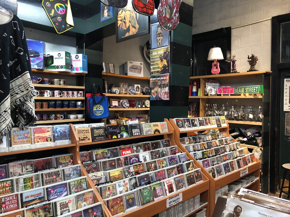 Memphis Music Records Tapes & Souvenirs