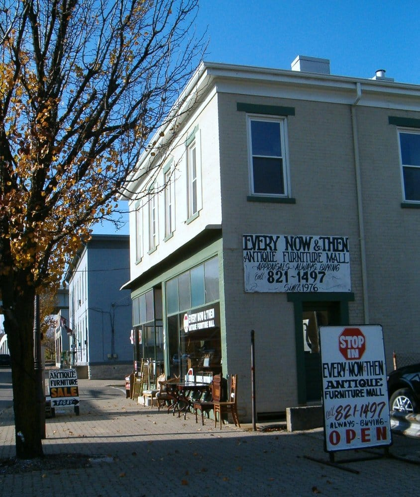 A Every Now & Then Antique Furniture Mall: 430 W Benson St, Reading, OH