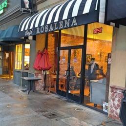 Cafe Rosalena Menu