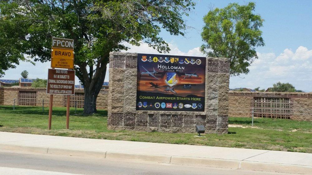 Holloman Air Force Base: 520 New Mexico Ave, Holloman Ar Frce Bse, NM