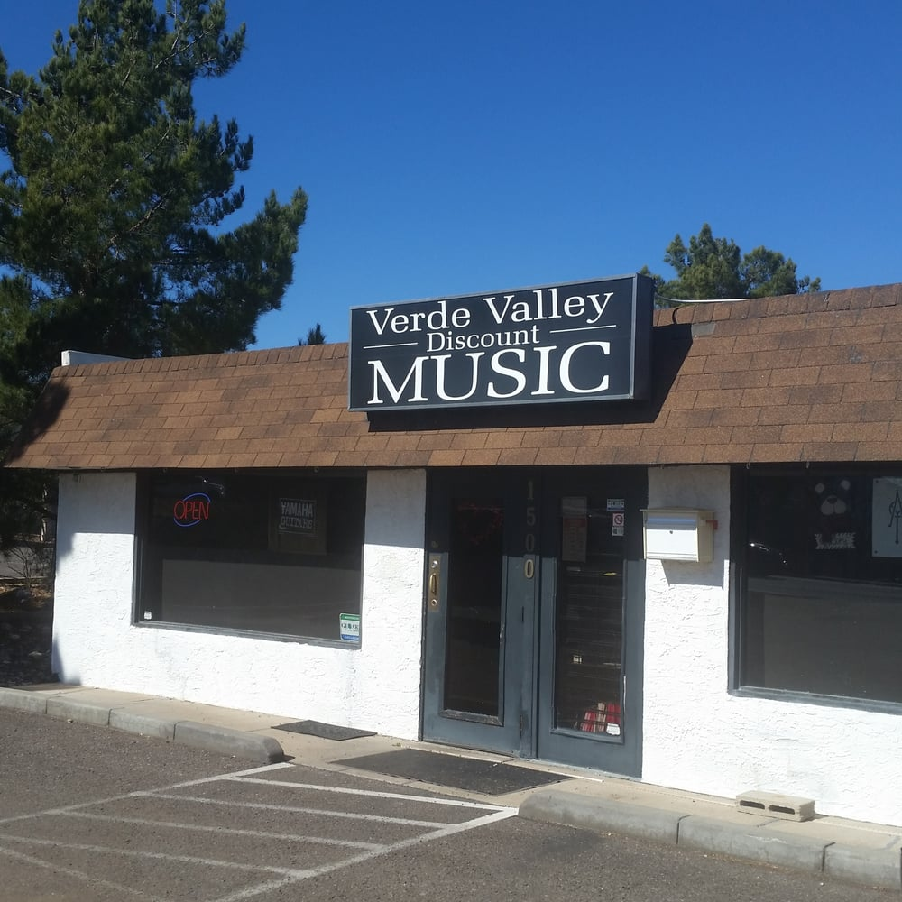 Verde Valley Discount Music: 1500 E State Route 89A, Cottonwood, AZ