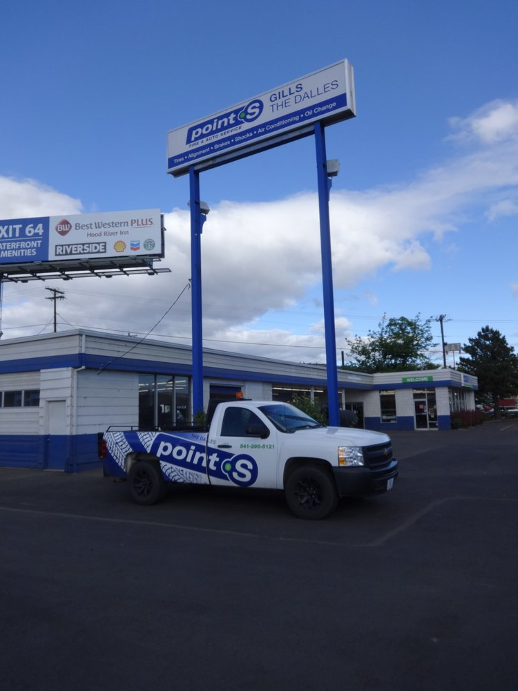 Gills Point S Tire & Auto - The Dalles: 1116 W 2nd St, The Dalles, OR