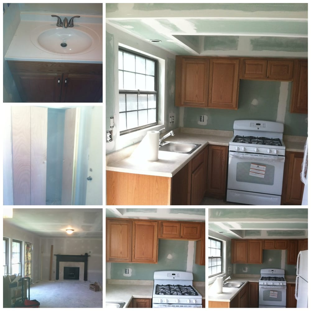 Partial Home Renovation, Install New Cabinets, Keep