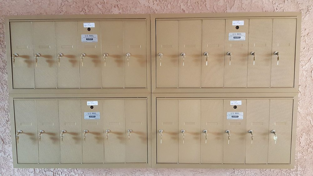 Salsbury Industries: apartment building mailboxes installed ...