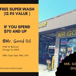 Mr Good Oil 12 Reviews Auto Repair 5400 W Belmont Ave Chicago