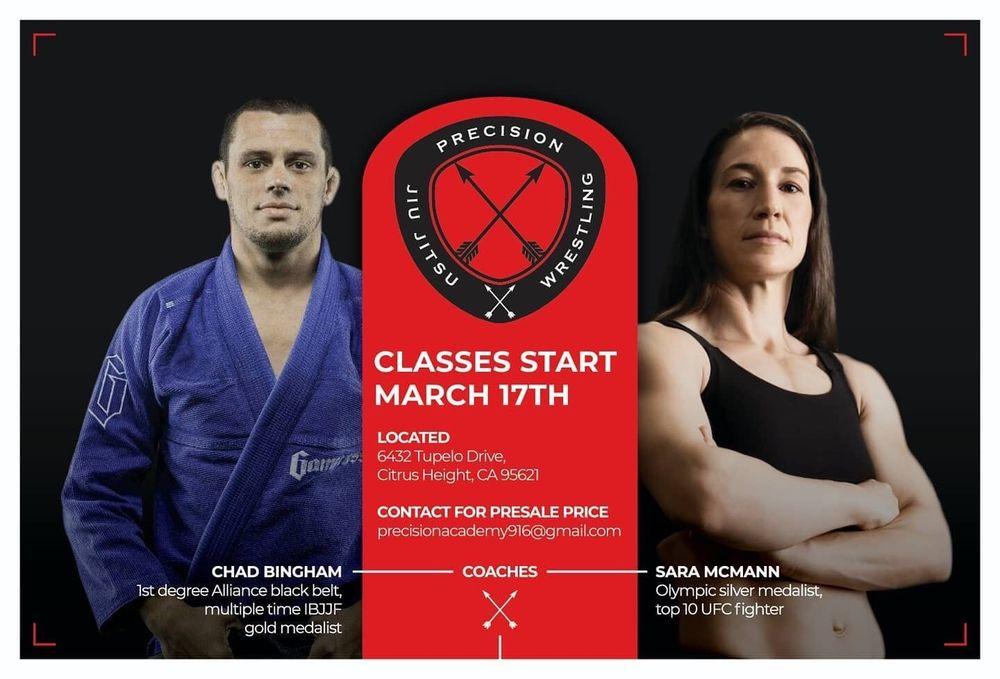 Precision Jiu Jitsu Academy: 6432 Tupelo Dr, Citrus Heights, CA