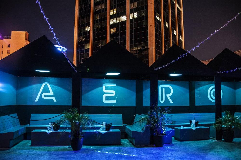 Aero Rooftop Bar: 60 North Orange Ave, Orlando, FL