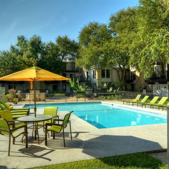 Townhollow Apartments - Austin, TX, United States. Sparkling Pool