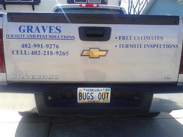 Graves Termite & Pest Solutions: 3201 Lynnwood Dr, Bellevue, NE