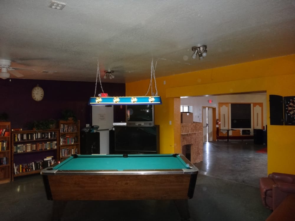 pool table in the cafe yelp. Black Bedroom Furniture Sets. Home Design Ideas