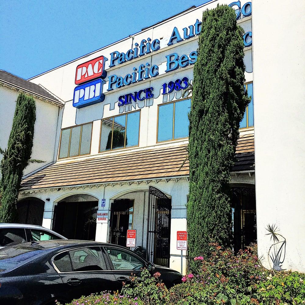 pacific auto company   auto parts supplies   rush st south el monte ca