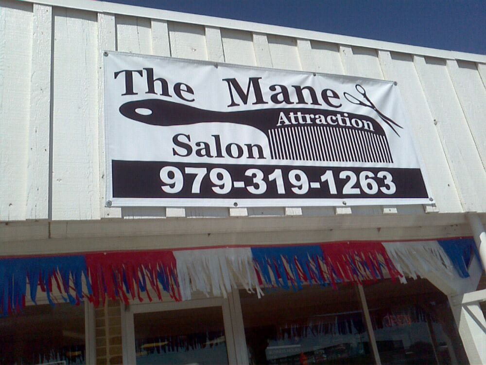 Mane attraction hair salon hairdressers 764 e brenham for Attractions salon