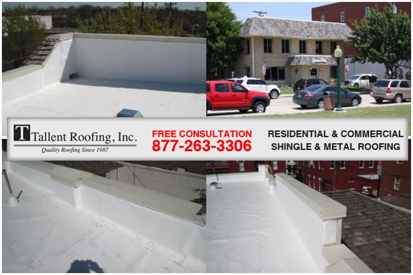 Photo Of Tallent Roofing   Alpine, TX, United States. Commercial Roofing