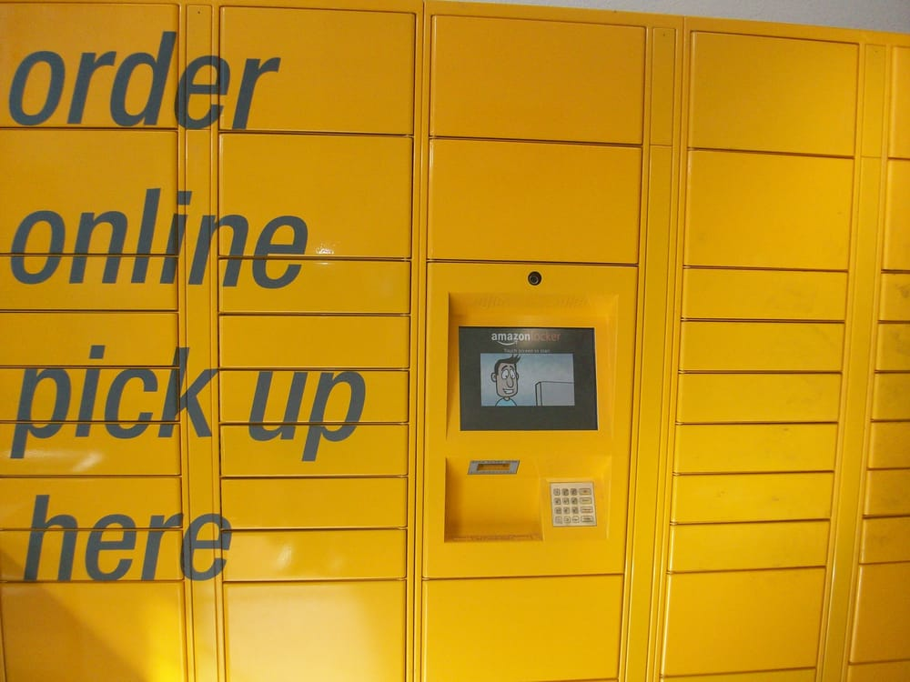 amazon locker griffin is located inside our berkeley center yelp. Black Bedroom Furniture Sets. Home Design Ideas