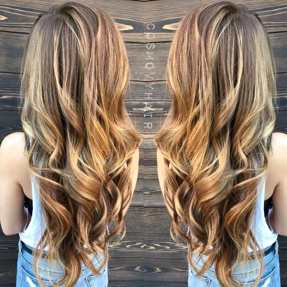 Color Correction Base Break And Balayage On Asian Hair Color And