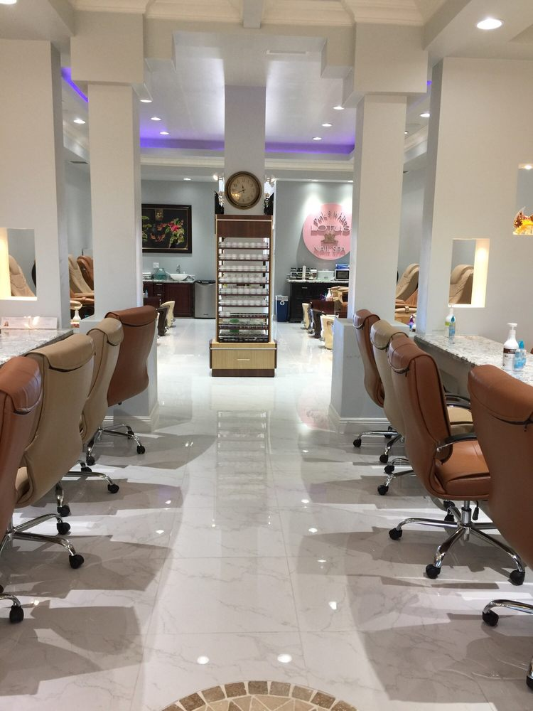 Photos for Pink and White Lotus Nail Spa - Yelp