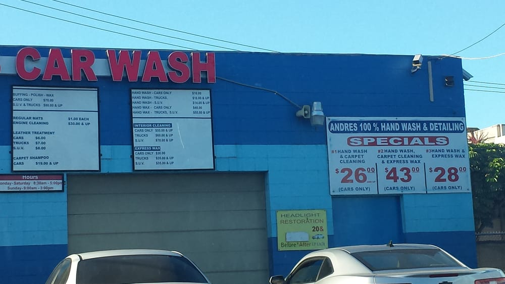 Andres Car Wash And Detailing