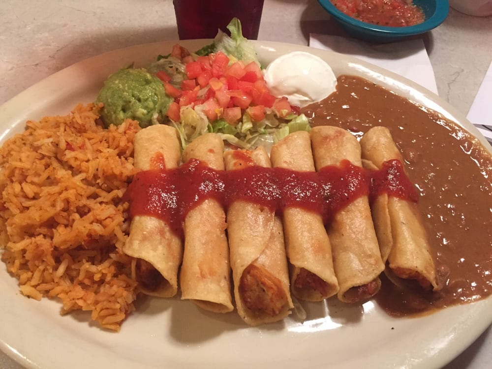 Gallery For > Chicken Flautas Chuys