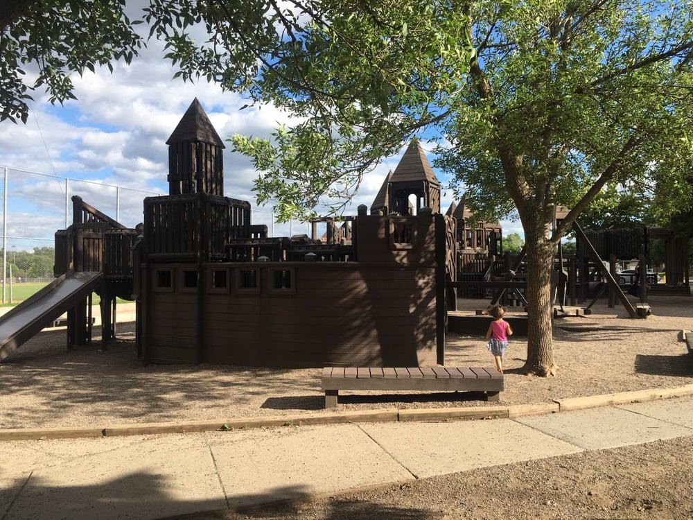Treasure Island Community Playground: 540 Warwick St, Saint Paul, MN