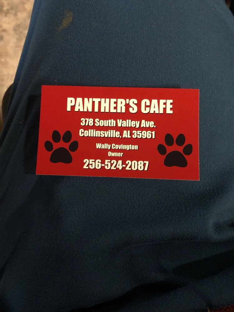 Panther Cafe: 372 S Valley Ave, Collinsville, AL