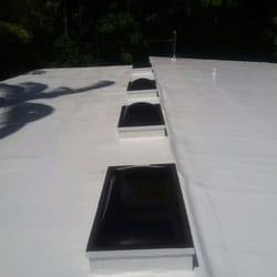 Photo Of City Roofing   Miami, FL, United States. Hydrostop Roof Coating