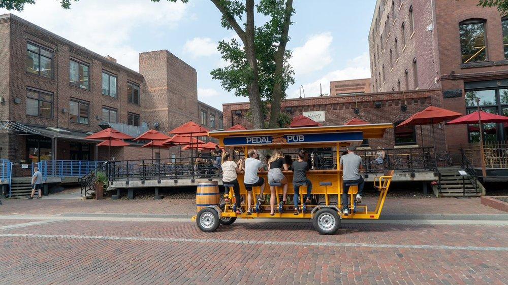 Pedal Pub Twin Cities: 209 N Washington Ave, Minneapolis, MN
