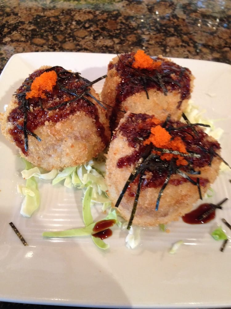 Deep fried ahi riceballs very good yelp for Good fried fish near me