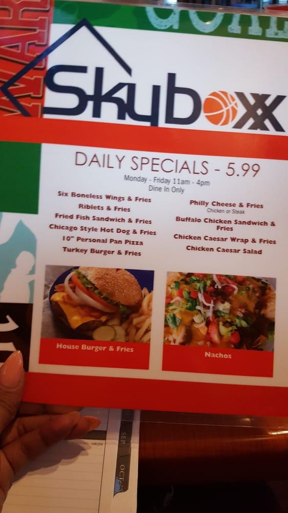 Skyboxx Restaurant Sports Bar Morrow Ga