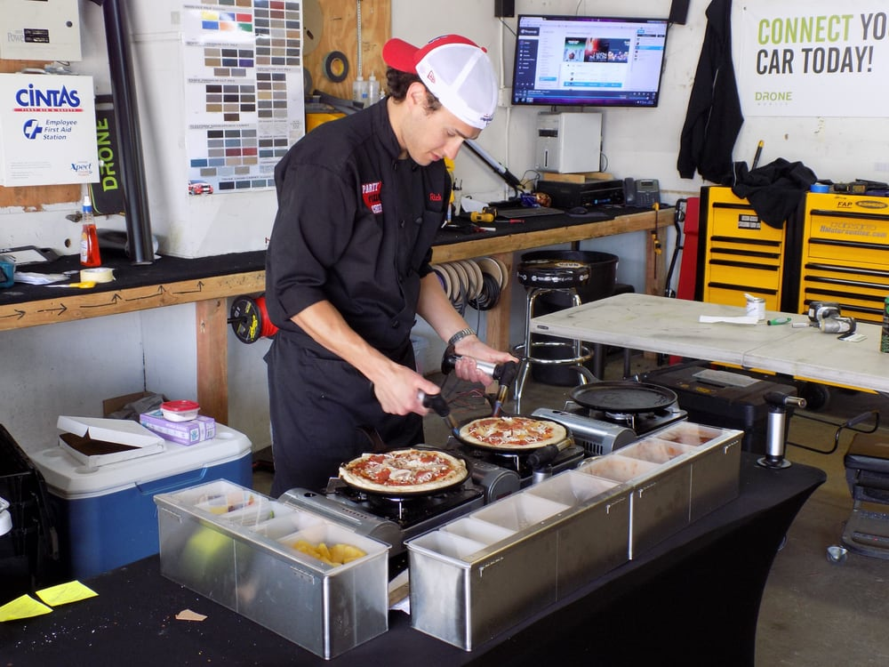 Making lunch for the mechanics at RSG Offroad - Yelp